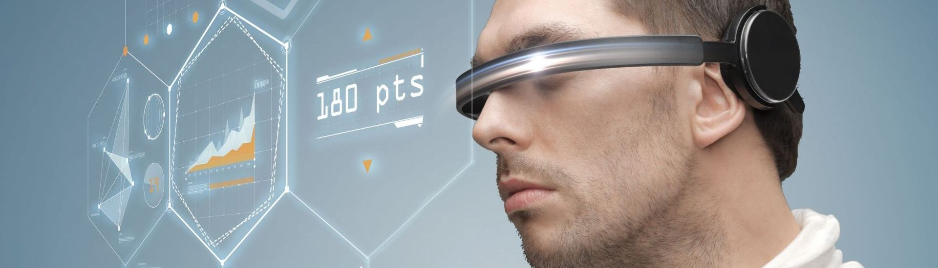 31276119 - future, technology, business and people concept - man in futuristic glasses